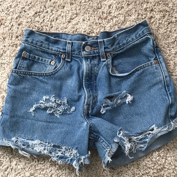 Levi's Pants - Levi's Vintage Denim Cut-off Shorts